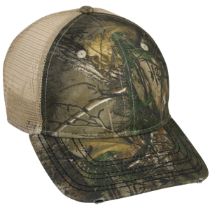 Camo Cap with Mesh Backing
