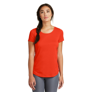 New Era® Ladies Series Performance Scoop Tee