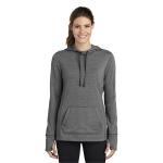 Sport-Tek® Ladies PosiCharge® Tri-Blend Wicking Fleece Hooded Pullover