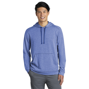 Sport-Tek® Men's PosiCharge® Tri-Blend Wicking Fleece Hooded Pullover